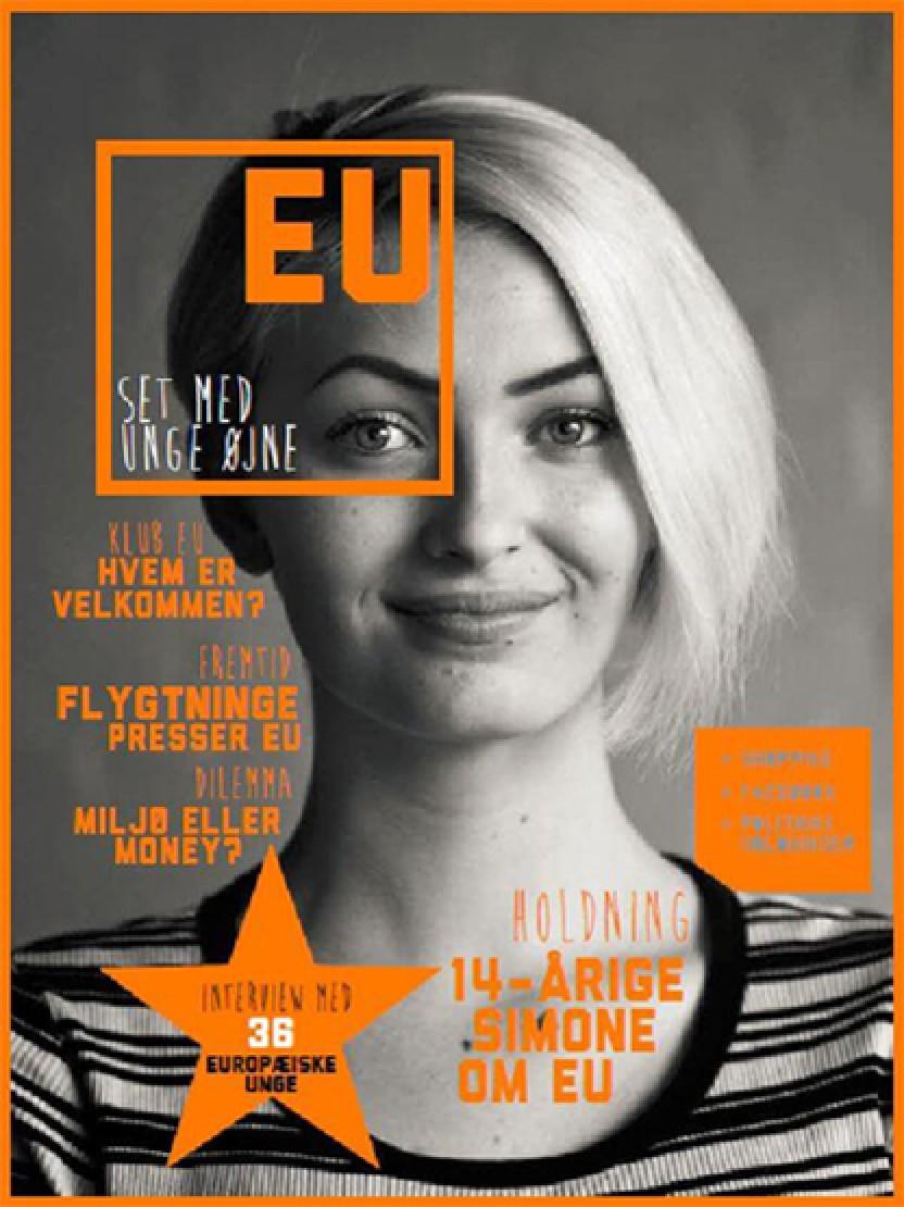 Unge europæere diskuterer