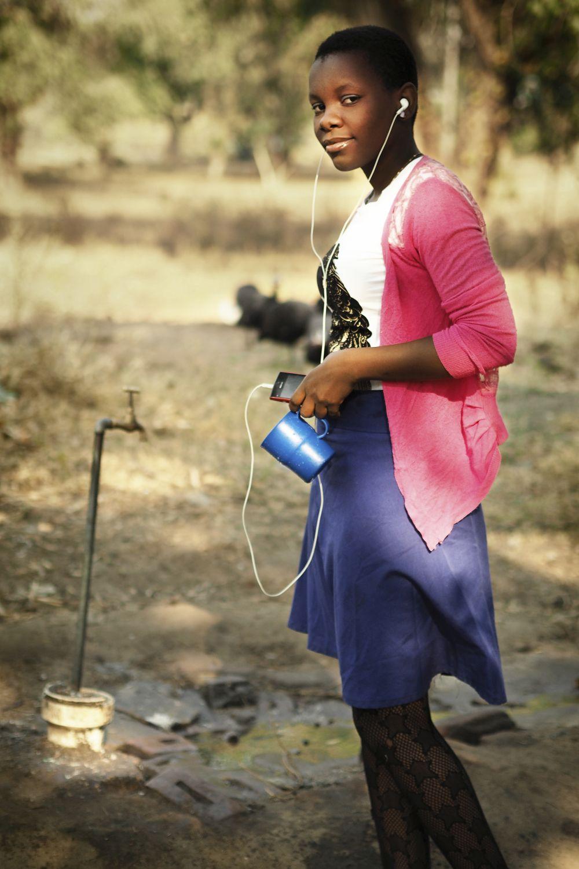 Malawi: Pause og god musik.