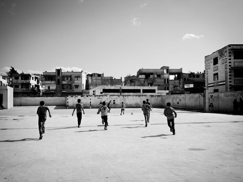 Syrien: Homs (Bab Amro).