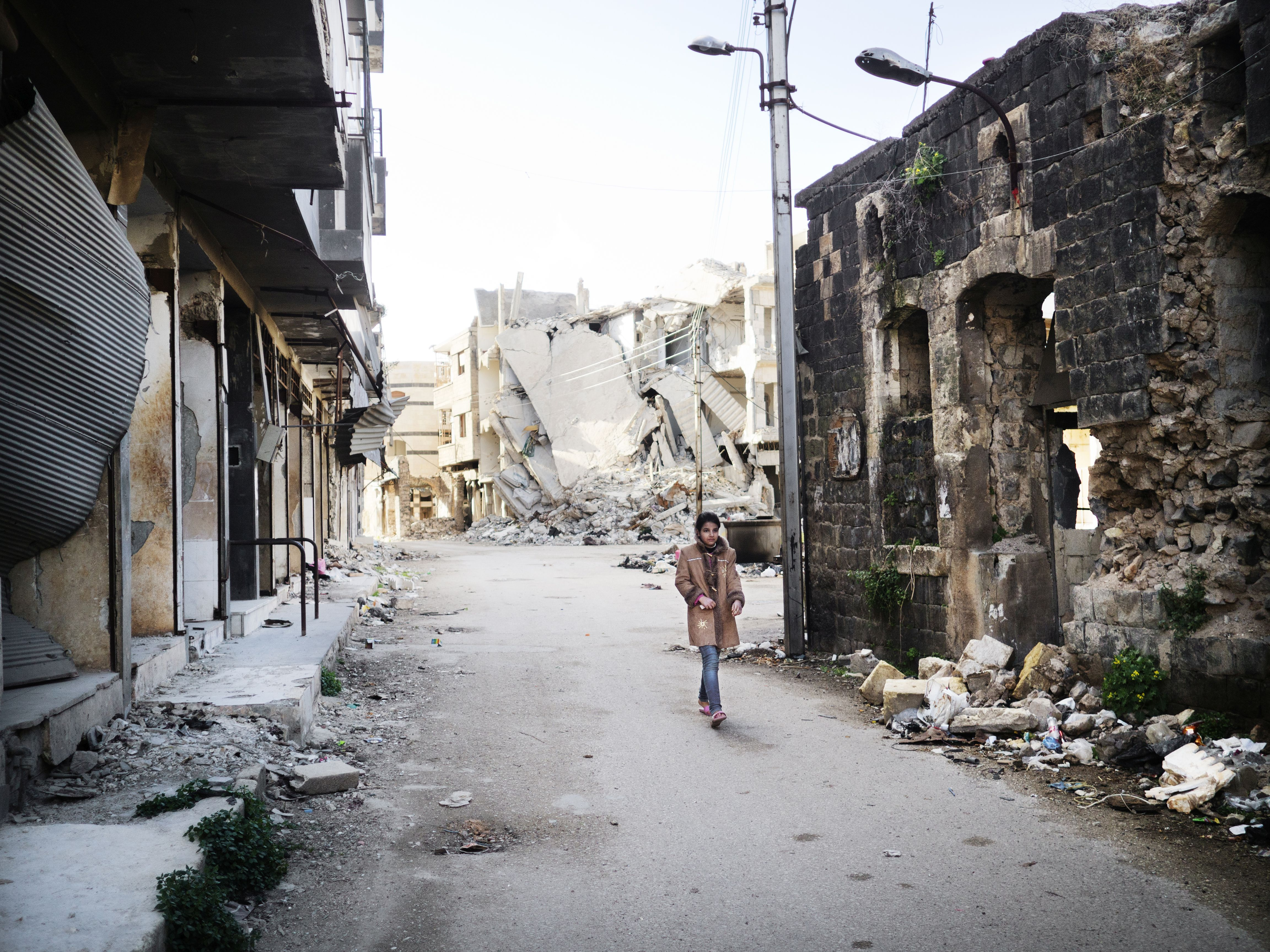 Old city Homs, Syria
