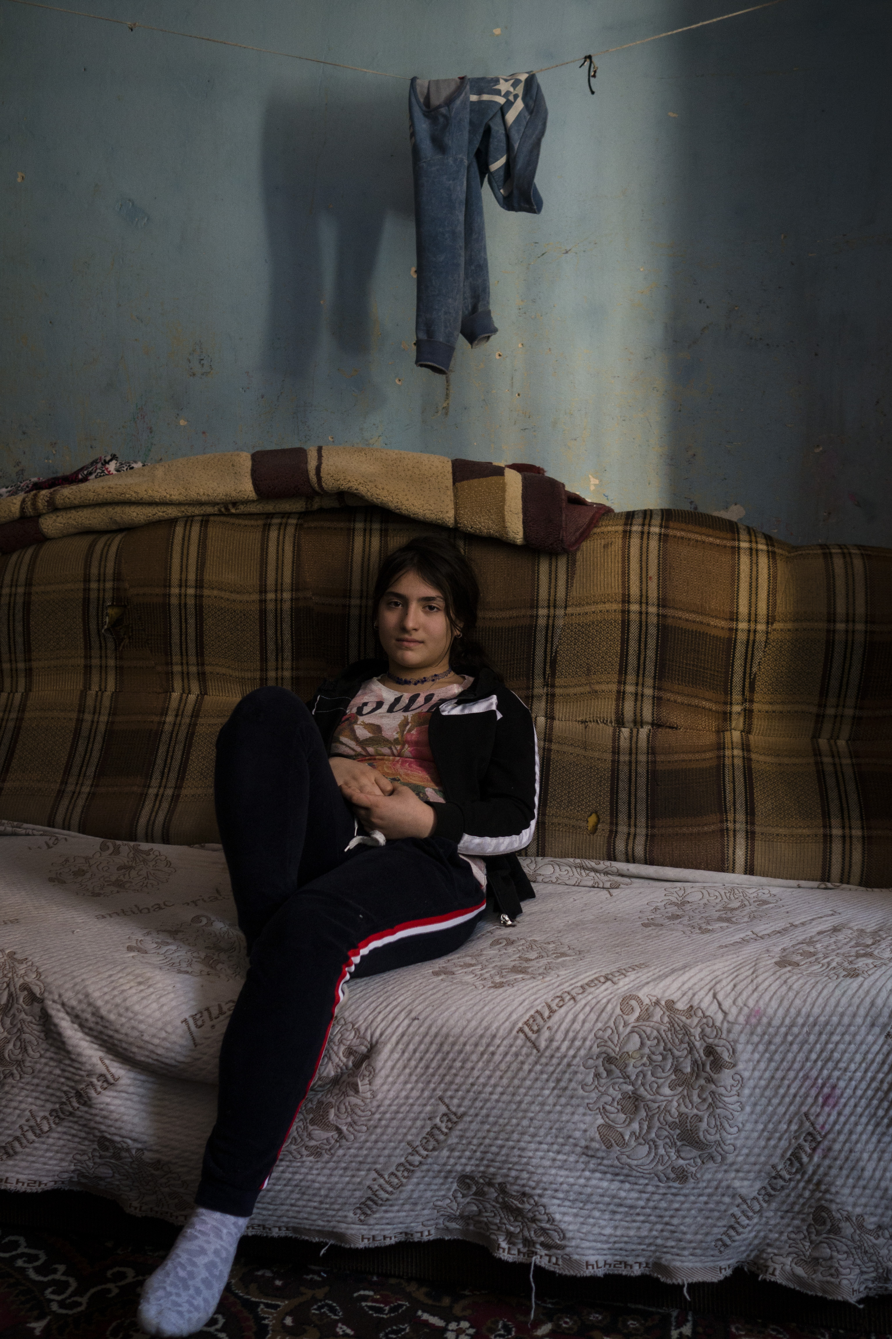 Fattigdom i Europa: Nicoleta, 12 år, roma, Rumænien.