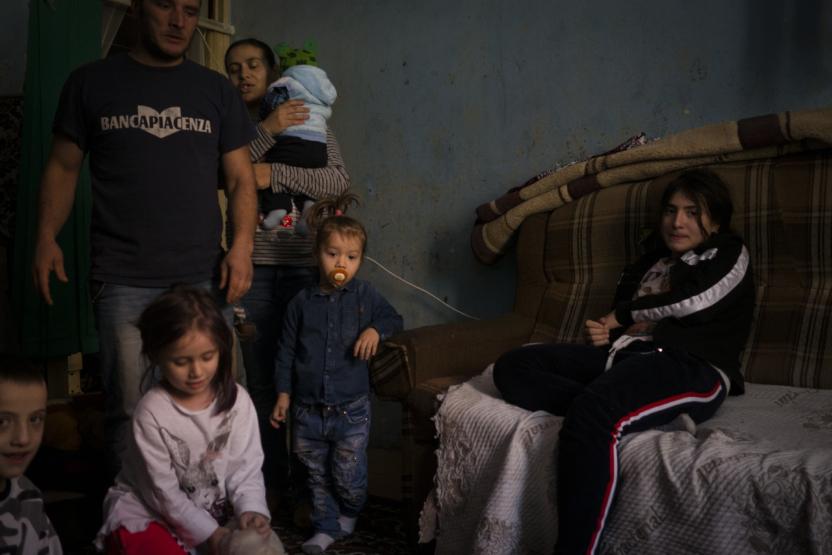 Fattigdom i Europa: Familie med ni børn