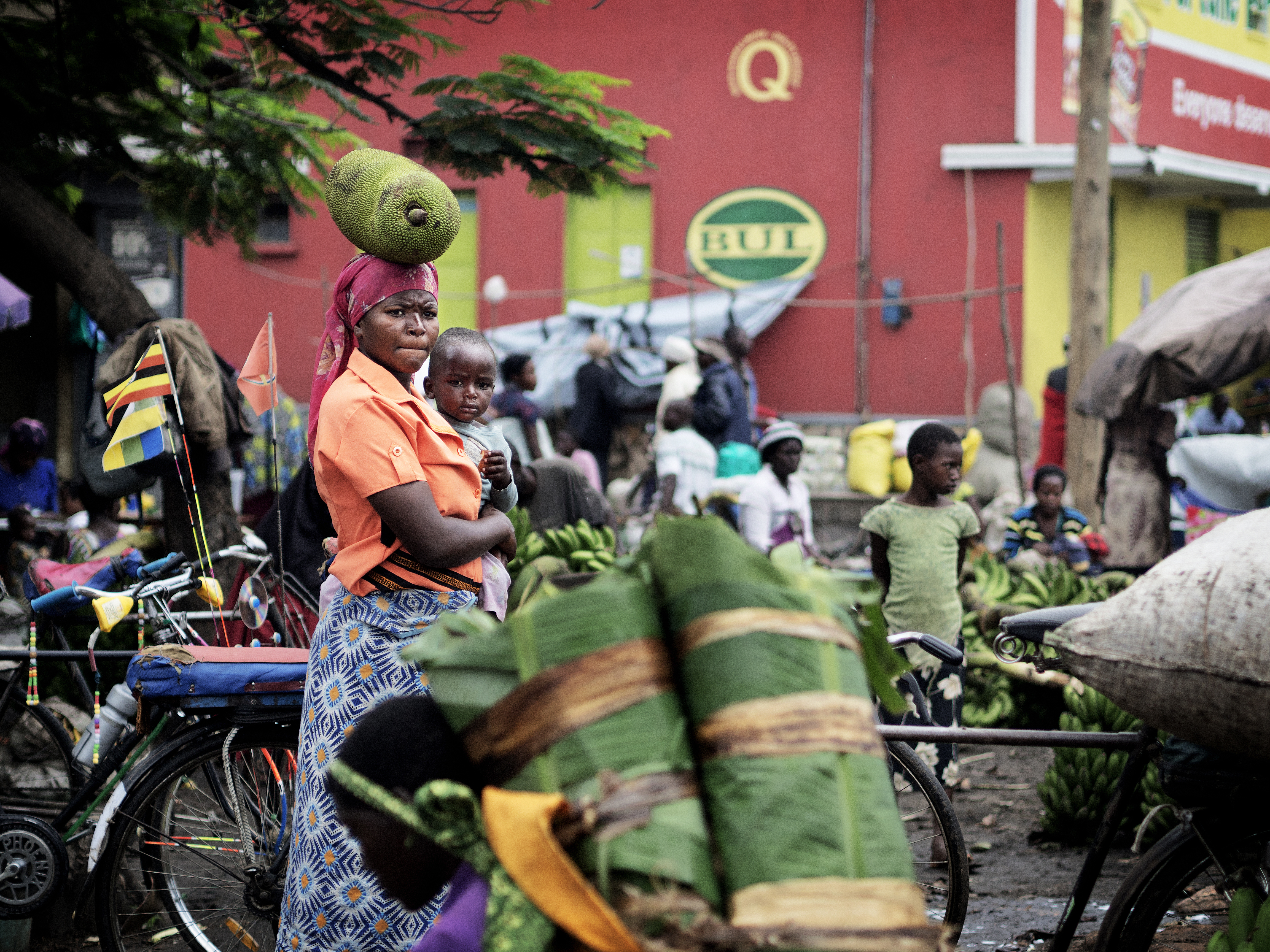 Markedsplads i Uganda, 2015